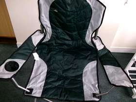 Freecycle Fishing Fold up Chair and carrying case
