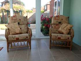 Freecycle Conservatory Chairs