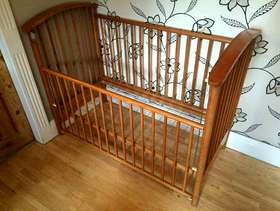 Freecycle Cot with mattress