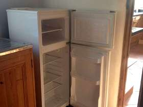 Freecycle Small upright fridge with freezer compartment