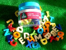 Freecycle Magnetic Upper Case Letters