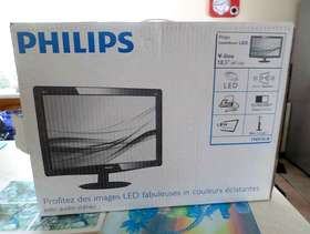 Freecycle Philips led moniter 18.5 inch with stereo sound