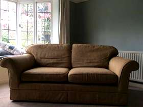 Freecycle Marks and spencer double sofa