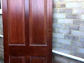 Freecycle Solid wooden interior Door