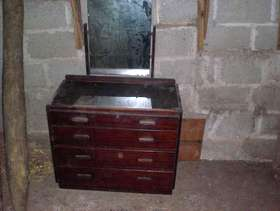 Freecycle 1930's Wooden Dressing Table