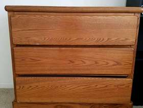 Freecycle Oak Dresser