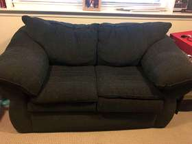 Freecycle Green love seat