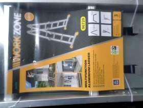 Freecycle Workzone multifunction aluminum ladder