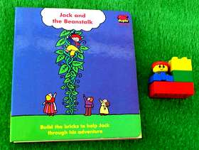 Freecycle A Lego Duplo Book Jack and the Beanstalk