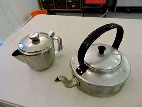Freecycle Set of camping cook ware