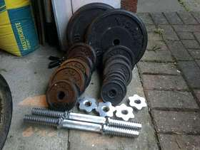 Freecycle Weights for weight training