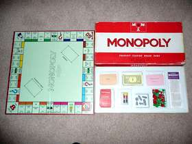 Freecycle Vintage 1970 Monopoly Board Game