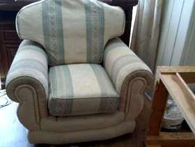 Freecycle Sofa and Armchair