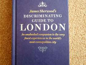Freecycle James Sherwood's Book: 'Discriminating Guide to London' - £5