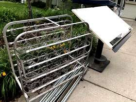 Freecycle Roll Away Bed Frame
