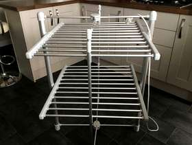 Freecycle Heated Cloth'es Airer