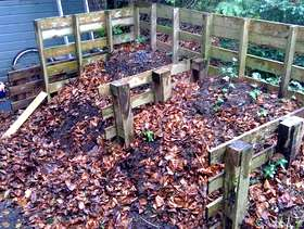 Freecycle LOTS of really nice COMPOST