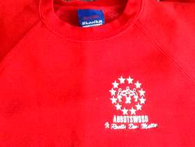 Freecycle Red Abbotswood jumpers size 32in