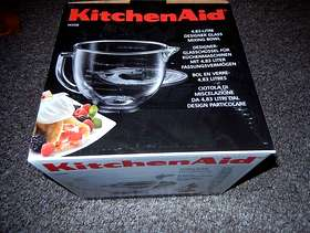 Freecycle KitchenAid Glass Mixing Bowl.