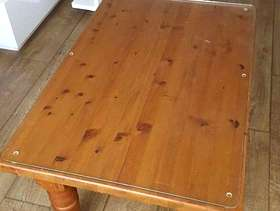 Freecycle Two Pine Coffee Tables