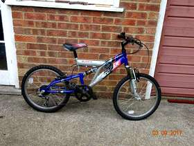 Freecycle Child's mountain bicycle
