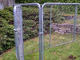 Freecycle Chain link kennel