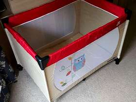 Freecycle Travel Cot (babies-r-us)