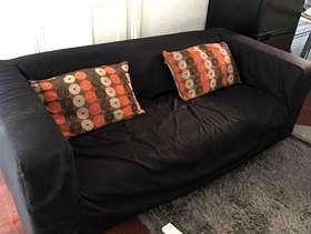 Freecycle Ikea Sofa with washable cover