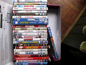 Freecycle Comedy DVDs x 25