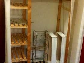 Freecycle Canvas wooden wardrobe
