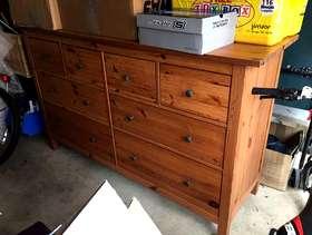 Freecycle Ikea set of 8 drawers