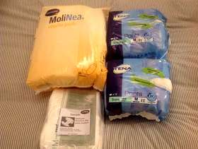 Freecycle Incontinence items