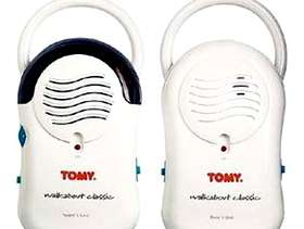 Freecycle Tomy 'mini walkabout' Baby monitor (incl. Parent unit)