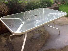 Freecycle Outdoor table