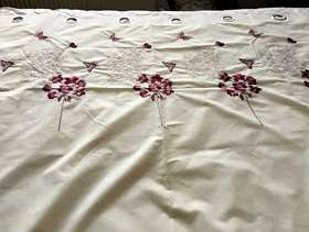 Freecycle Lined curtains