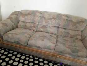 Freecycle <Move Out> Sofa(3+2), Arm Chair, Bed Side Chest - for ...
