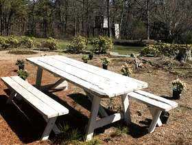 Freecycle Picnic table / 2 benches