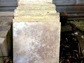 Freecycle Paving slabs