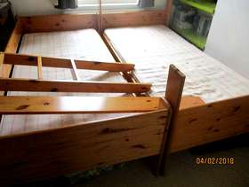 Freecycle Bunk beds