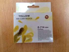 Freecycle Brand New Epson Compatible Yellow Cartridge - E/T 714 - ...