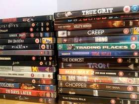 Freecycle Action Movie DVDs