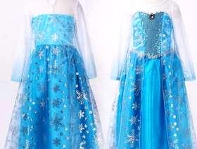 Freecycle Elsa princess dress age 11-12