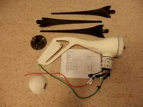 Freecycle AirX wind generator