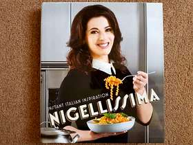 Freecycle Nigella Lawson - Instant Italian Inspiration Hardback Cooking Book - ...