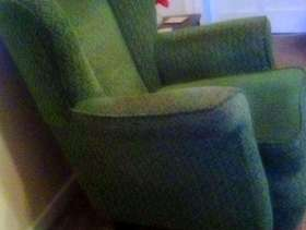 Freecycle Sofa, chair and pouff