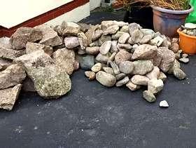 Freecycle Garden rocks and stones