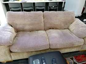 Freecycle Two Harvey's sofas