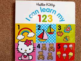 Freecycle Hello Kitty - 'I can Learn my 123' Hardback Children's ...