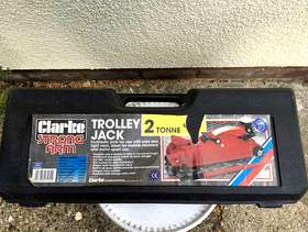 Freecycle FOR SALE: Clarke 'Strong Arm' CTJ2Q 2 tonne trolley jack. ...