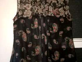 Freecycle Floral top